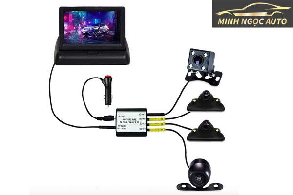 Lắp đặt camera lùi không dây kết nối với điện thoại