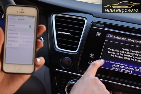 cách kết nối bluetooth diện thoại với ô tô