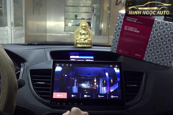 camera hành trình ô tô tích hợp với màn hình dvd
