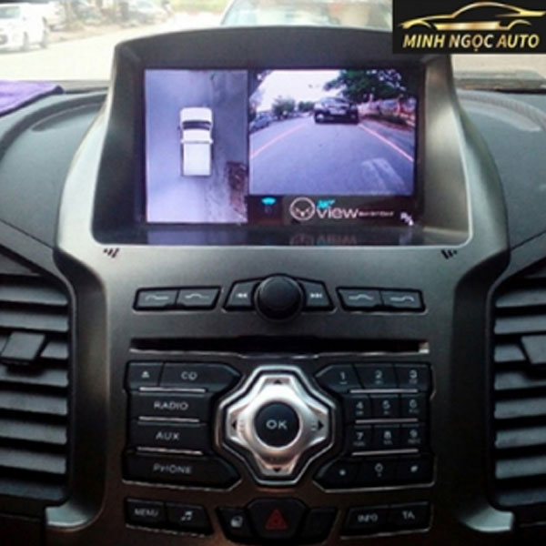 Camera toàn cảnh 360 độ xe ô tô