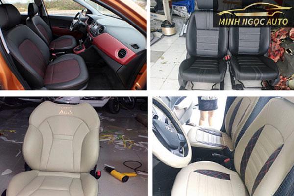 Bọc ghế da ô tô loại nào