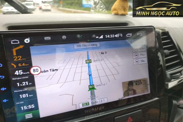 Tìm hiểu về màn hình android cho ô tô