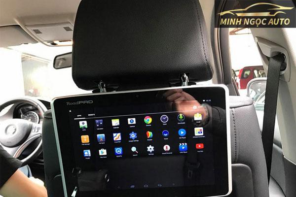 màn hình android ghế sau ô tô