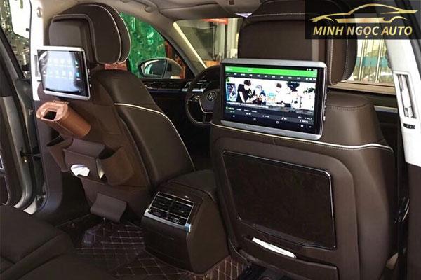 màn hình android  gối sau ô tô cỡ lớn