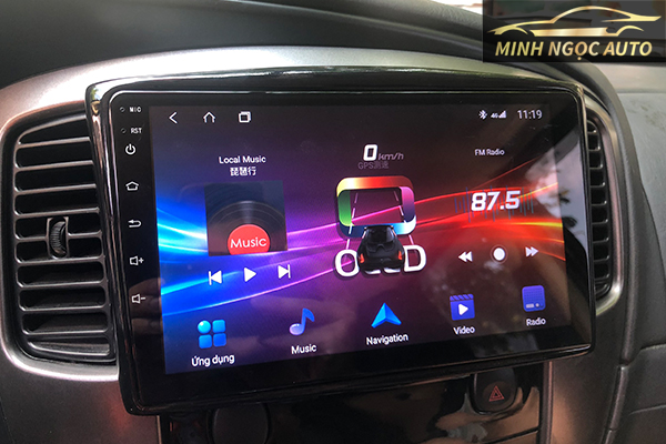 màn hình cho xe hơi