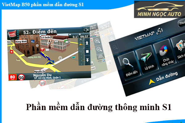 Phần mềm bản đồ dẫn đường cho đầu dvd trên ô tô VietMap X10