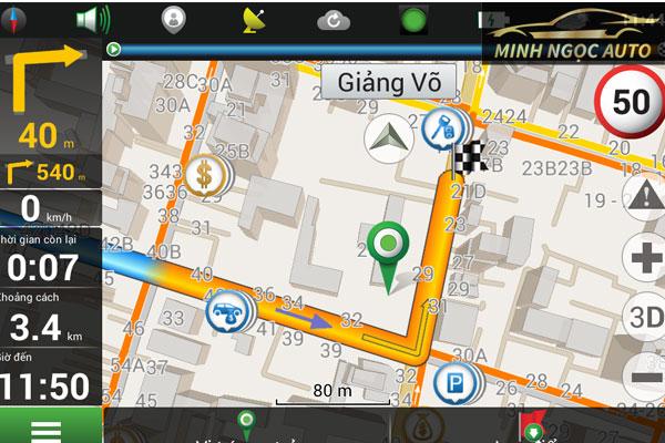 Phần mềm bản đồ dẫn đường cho đầu dvd trên ô tô Navitel