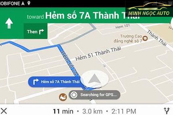 Phần mềm bản đồ dẫn đường cho đầu dvd trên xe ô tô