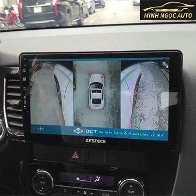 Camera toàn cảnh 360 độ azur cho ô tô