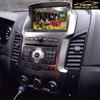 Màn hình DVD  8 Inch  theo xe Ford Ranger