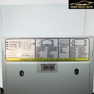 Màn hình DVD xe ô tô Honda City của Fujitsu 2