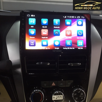 Màn hình Android Tapsonic cho xe Vios 2019 Cơ