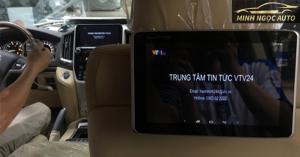 Có nên lắp màn hình gối sau cho xe ô tô hay không ?