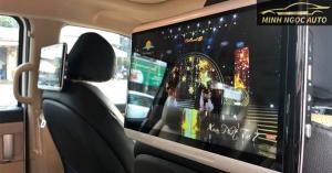 Tiện ích với màn hình Android ghế sau ô tô