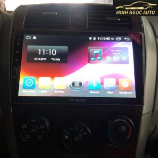 Màn hình Android Tapsonic cho xe Altis 2008-2013
