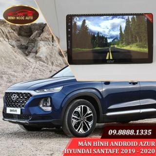 Màn hình Android Azur cho xe HYUNDAI SANTAFE 2019 - 2020
