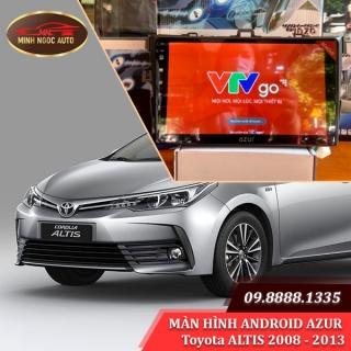 Màn hình Android Azur cho xe Toyota ALTIS 2008 - 2013
