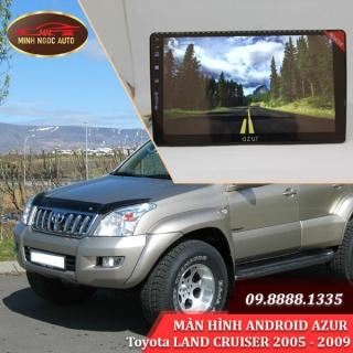 Màn hình Android Azur cho xe Toyota LAND CRUISER 2005 - 2009