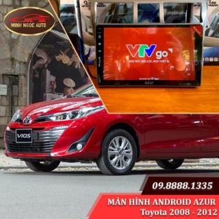 Màn hình Android Azur cho xe Toyota VIOS 2008 - 2012